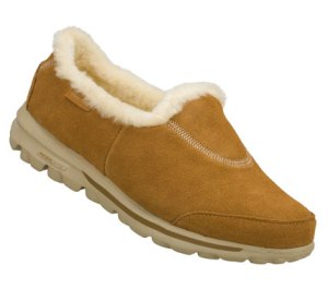 Brown Skechers Skechers GOwalk - Toasty