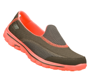 Pink-Gray Skechers Skechers GOwalk 2 - Illumination