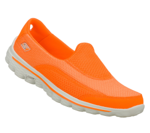 Orange Skechers Skechers GOwalk 2