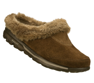 Brown Skechers Skechers GOwalk - Cozy