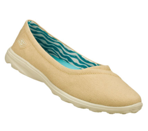 Natural Skechers Skechers GOsleek - Jetset