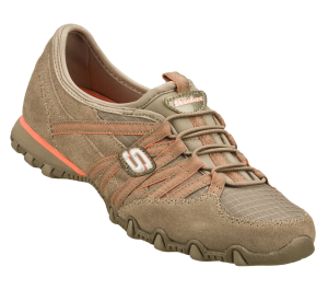 OrangeBrown Skechers Bikers - Verified