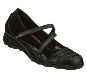 Black Skechers Sassies - At Last