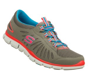 Neon-PinkGray Skechers Gratis - Big Idea