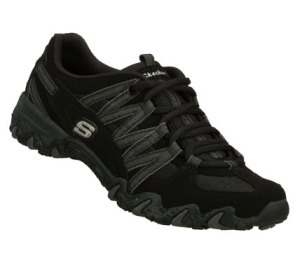 GrayBlack Skechers Compulsions - Curiousity