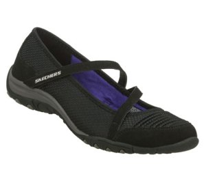 Black Skechers Inspired - Heavenly