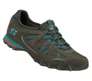 Gray Skechers Bikers - Equation