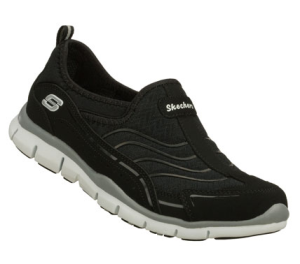WhiteBlack Skechers Gratis - Legendary
