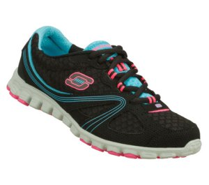 BlueBlack Skechers EZ Flex - Intricate