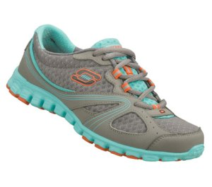 BlueGray Skechers EZ Flex - Intricate