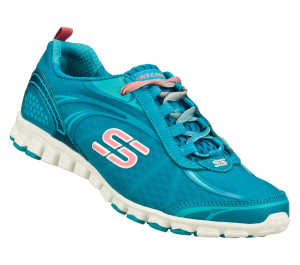Blue Skechers EZ Flex - Fierce