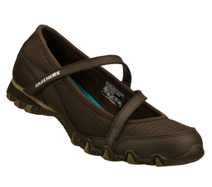 Brown Skechers Bikers - Impromptu