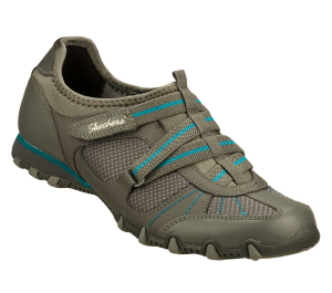 Gray Skechers Bikers - Real Talk