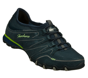 NavyNavy Skechers Bikers - Sole Charmer