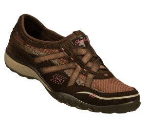 Brown Skechers Relaxed Fit: Breathe Easy