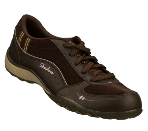Brown Skechers Relaxed Fit: Breathe Easy - Take Ten
