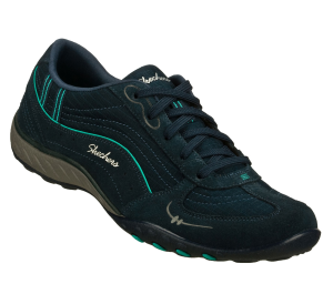 AquaNavy Skechers Relaxed Fit: Breathe Easy - Just Relax