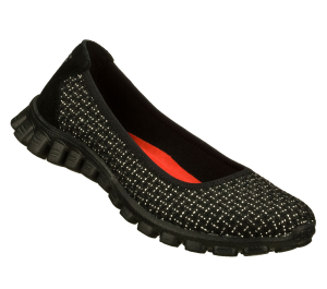 SilverBlack Skechers EZ Flex 2 - Illuminate