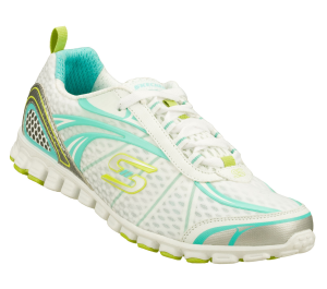 MintWhite Skechers EZ Flex - Flash Mob