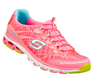 Pink Skechers Chill Out - Elation