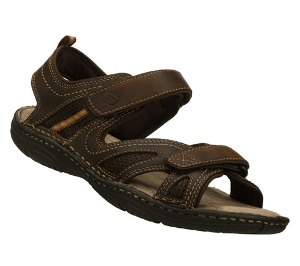 Skechers WAVERS - WAITED : Brown - Mens Sandal