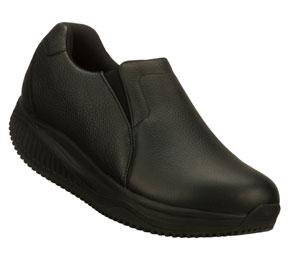 Skechers Shape Ups Slip Resistant : Black - Womens