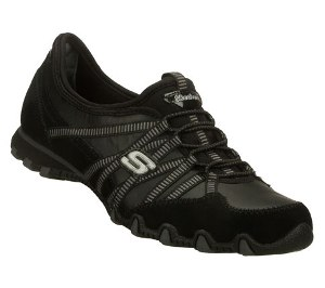 Black Skechers Bikers Dream Come True