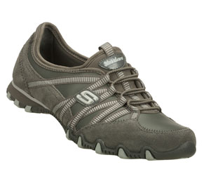 Gray Skechers Bikers Dream Come True