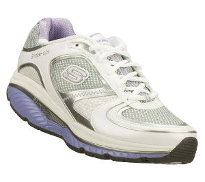 White Skechers S2 LITE