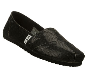 Black Skechers Bobs - Earth Mama