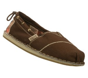 Brown Skechers Bobs Chill