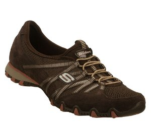Brown Skechers Bikers - Hot Ticket