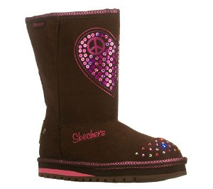 Brown Skechers Keepsakes - Flash N Fancy