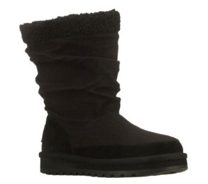 Black Skechers Keepsakes - Warm & Fuzzies