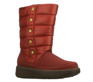 Red Skechers Tone-ups Chalet - North Star