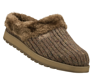 Brown Skechers Bobs Keepsakes - Puffers