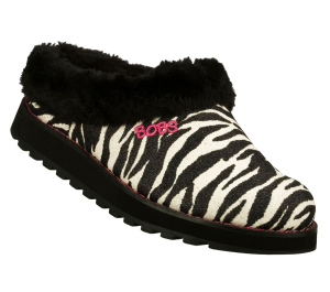WhiteBlack Skechers Bobs Keepsakes - Jungle