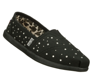 Black Skechers Bobs World - Falling Star