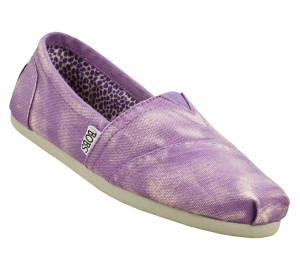Purple Skechers Bobs - Stand By Me