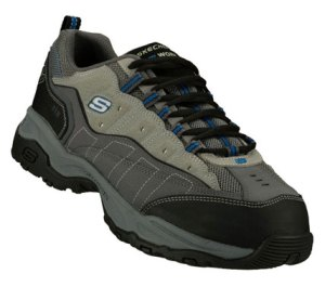 Gray Skechers Canyon - Hobby - Extra Wide
