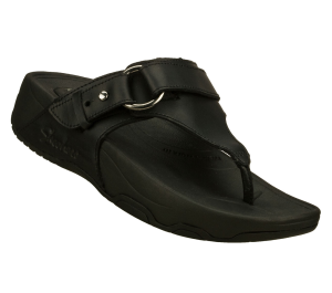 Black Skechers Relaxed Fit: Tone-ups - Nuts and Honey