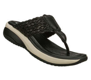 Black Skechers Relaxed Fit Promotes