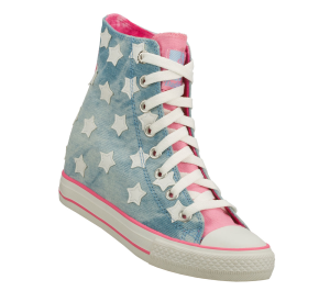 PinkBlue Skechers Daddy's Money: Gimme - Starry Skies