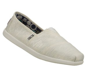 White Skechers Bobs World