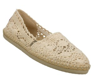 Natural Skechers Bobs - Doily
