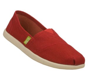 Red Skechers Bobs World - Reuse