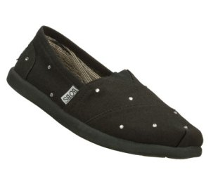 Black Skechers Bobs World - Unity