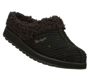 Black Skechers Keepsakes - Snuggle Up