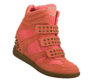Coral Skechers SKCH Plus 3 - Staked
