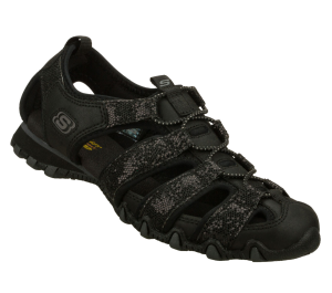 Black Skechers Bikers - Wild Glitz